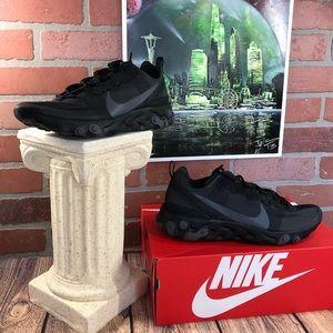 Nike React Element 55 Black/Dark Grey BQ6166 008